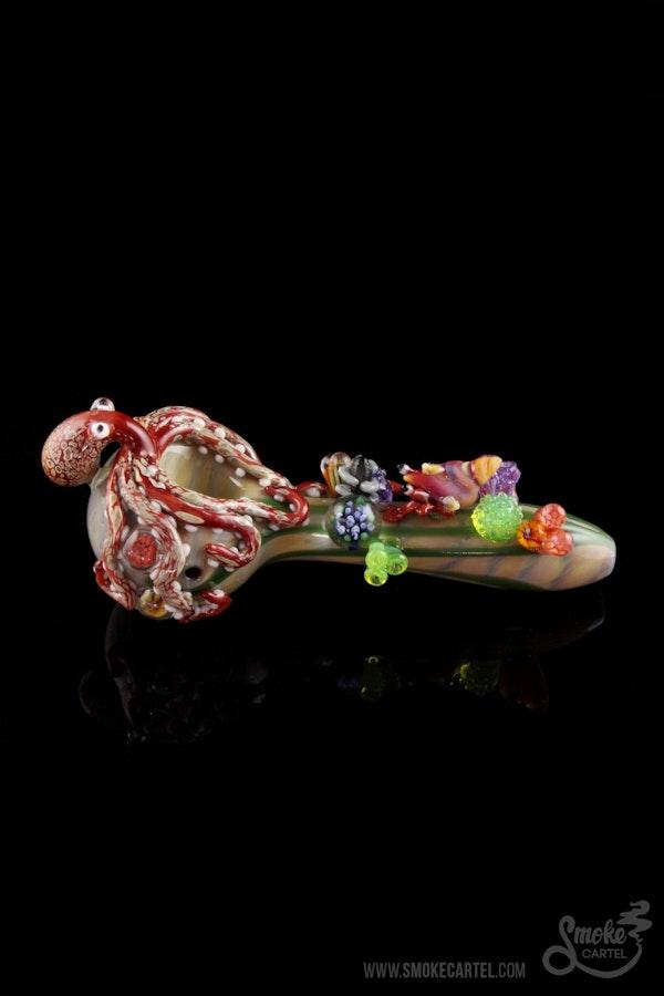 """Empire Glassworks """"Under The Sea"""" Spoon"""