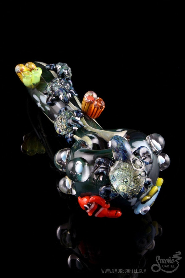 "Empire Glassworks ""Eastern Australian Current"" Spoon"