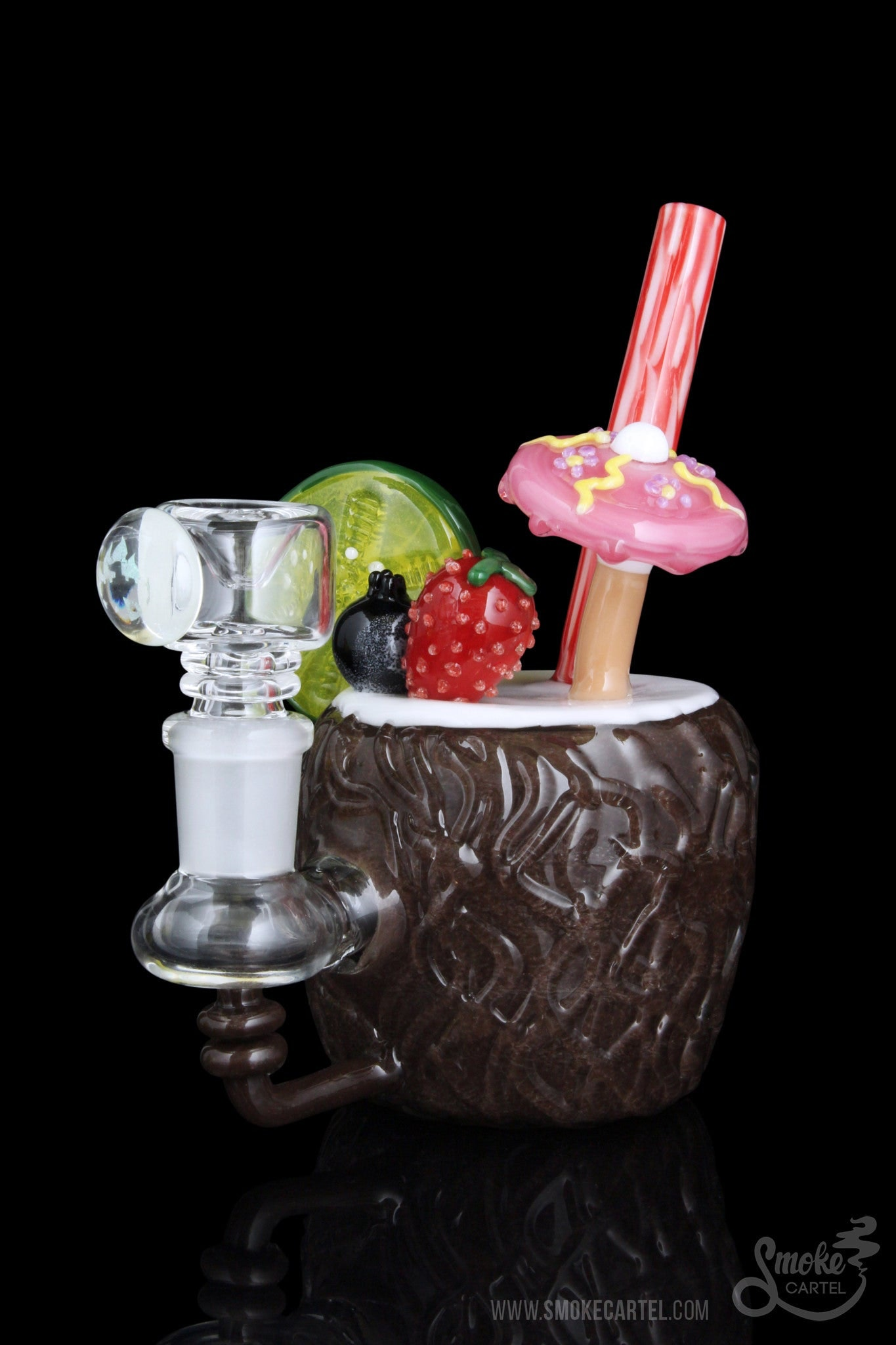 Empire Glassworks Quot Coconut Colada Quot Mini Rig