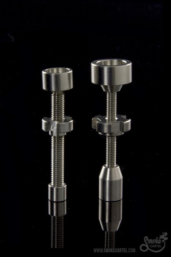 DabWorthy 10mm, 14mm, or 19mm Adjustable Titanium Nail