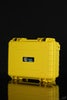 "Yellow - STR8 Case 10"" Hard Top Storage Case with 2 Layer Protective Foam and Carrying Handle - Variant - Yellow"