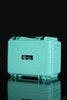 "Teal - STR8 Case 10"" Hard Top Storage Case with 3 Layer Protective Foam - Featured View - Teal"