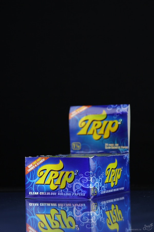 Trip2 Clear Cellulose Rolling Papers